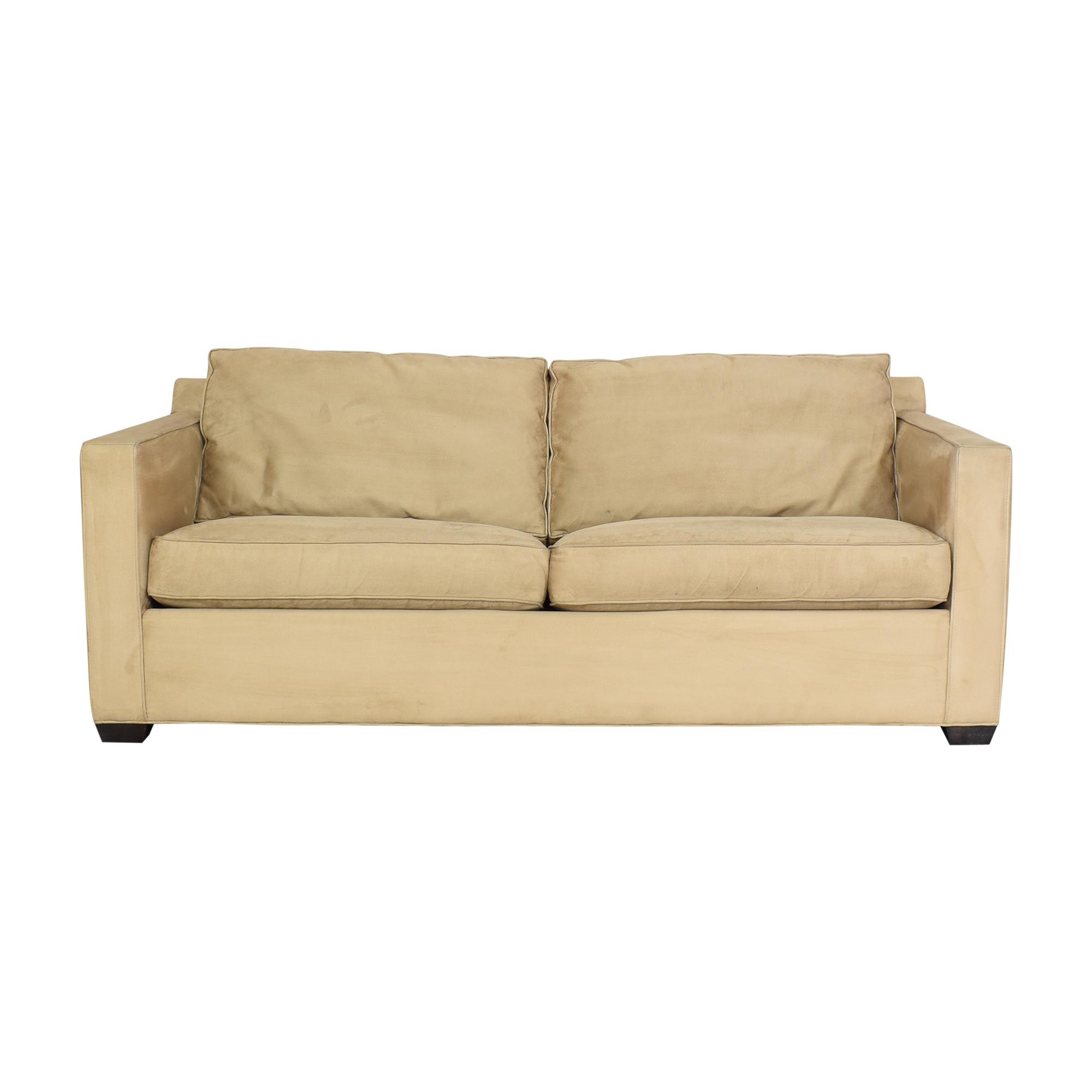 shop Crate & Barrel Davis Sleeper Sofa Crate & Barrel