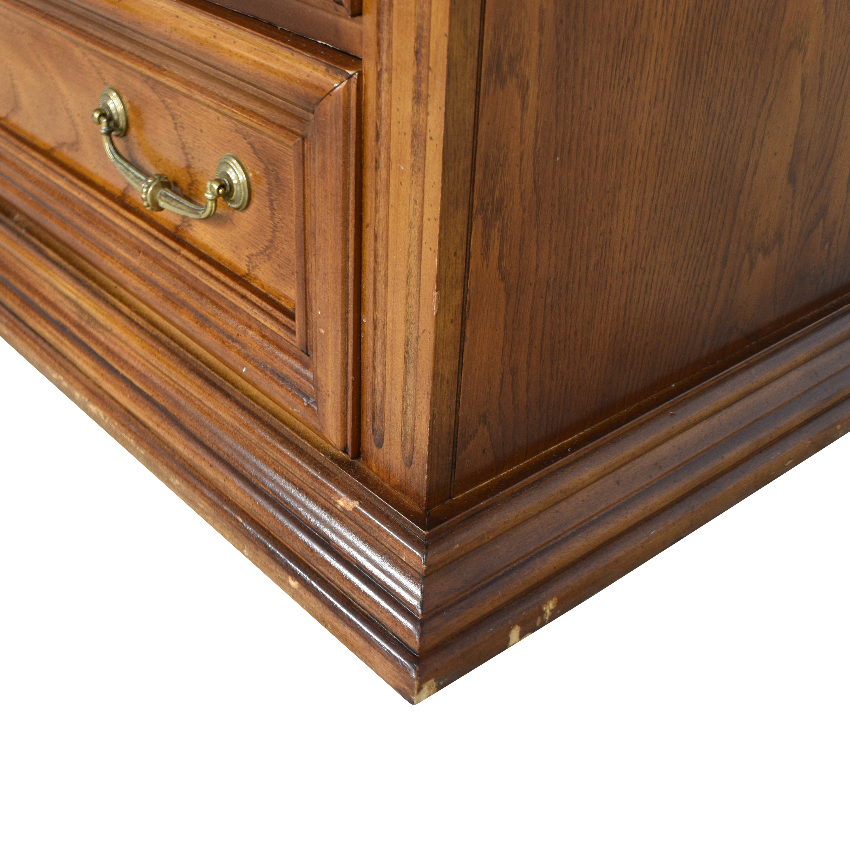 Bassett Furniture Bassett Furniture French Provincial Five Drawer Dresser Storage