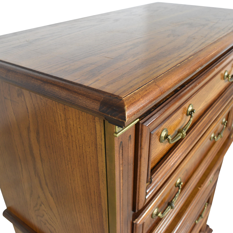 shop Bassett Furniture French Provincial Five Drawer Dresser Bassett Furniture