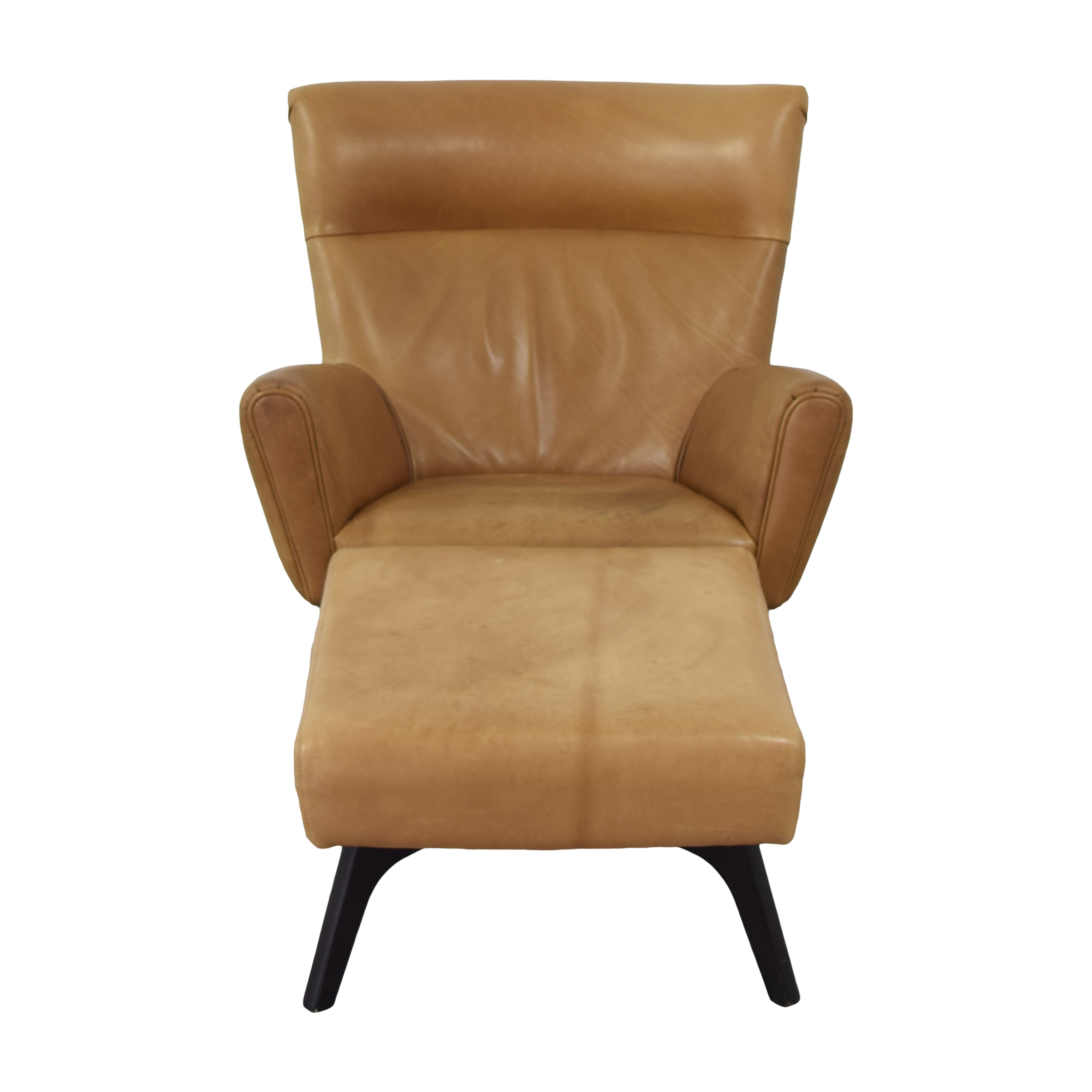 shop Room & Board Boden Chair and Ottoman Room & Board Chairs