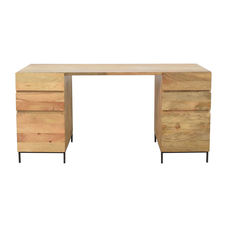 West Elm West Elm Industrial Modular Desk Set discount