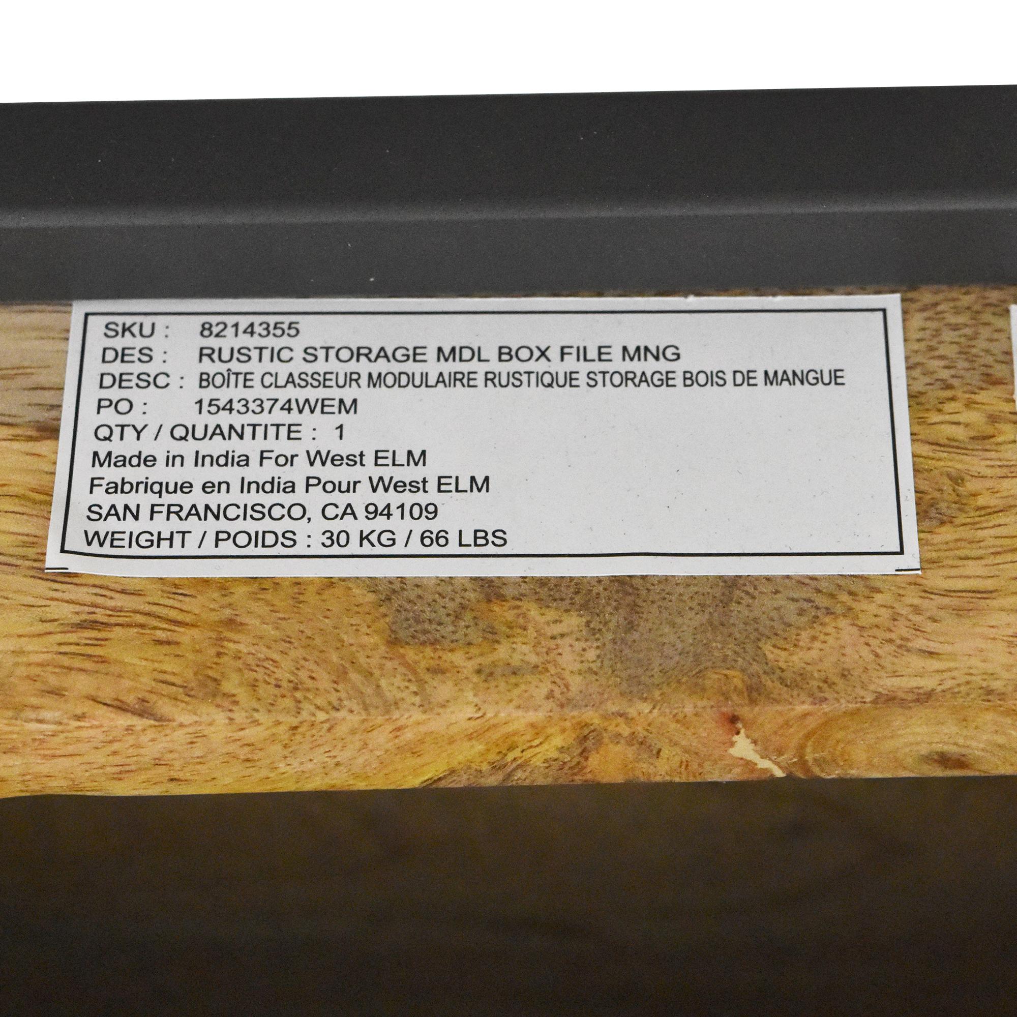 West Elm West Elm Desk Industrial Modular Desk Set nyc