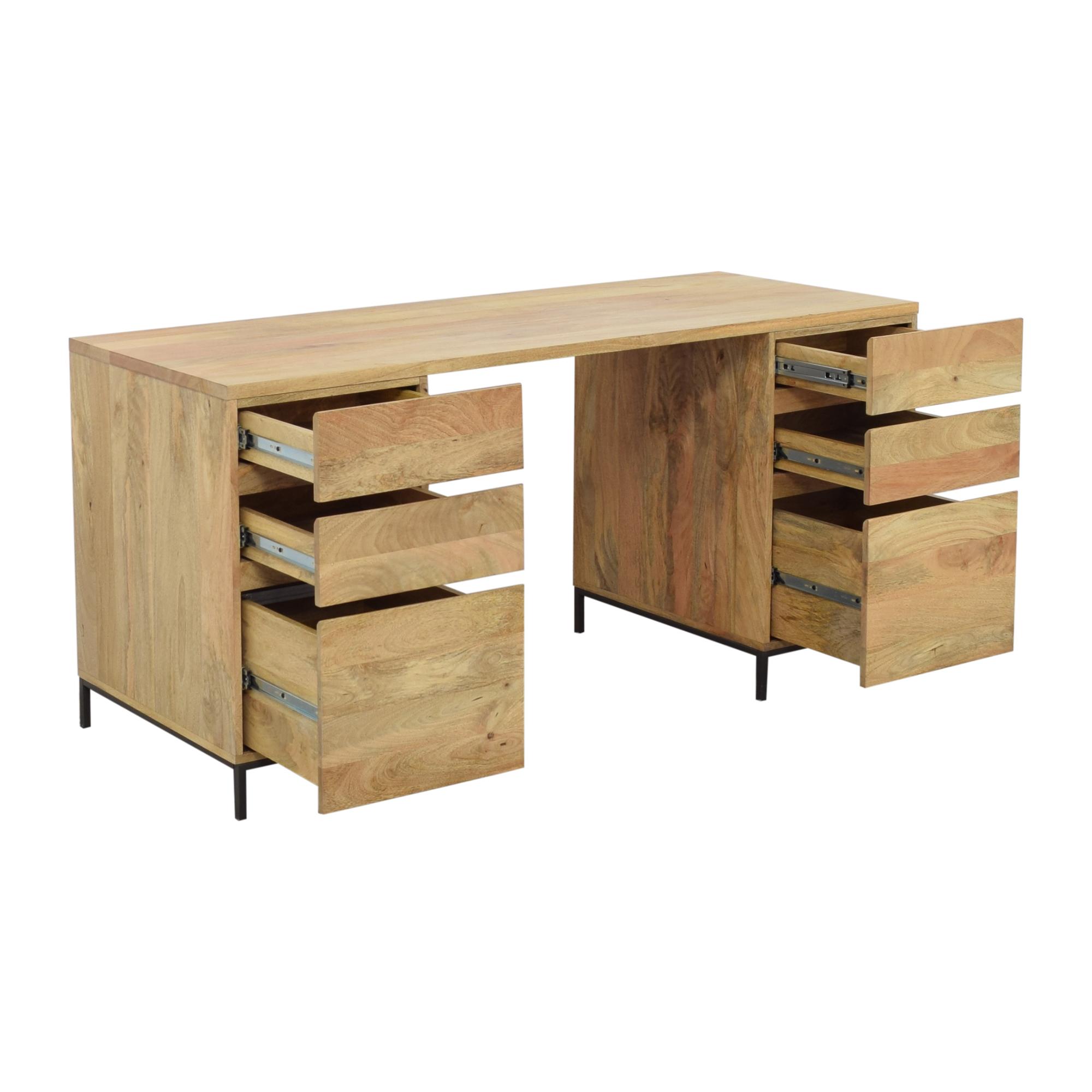 West Elm West Elm Desk Industrial Modular Desk Set nj