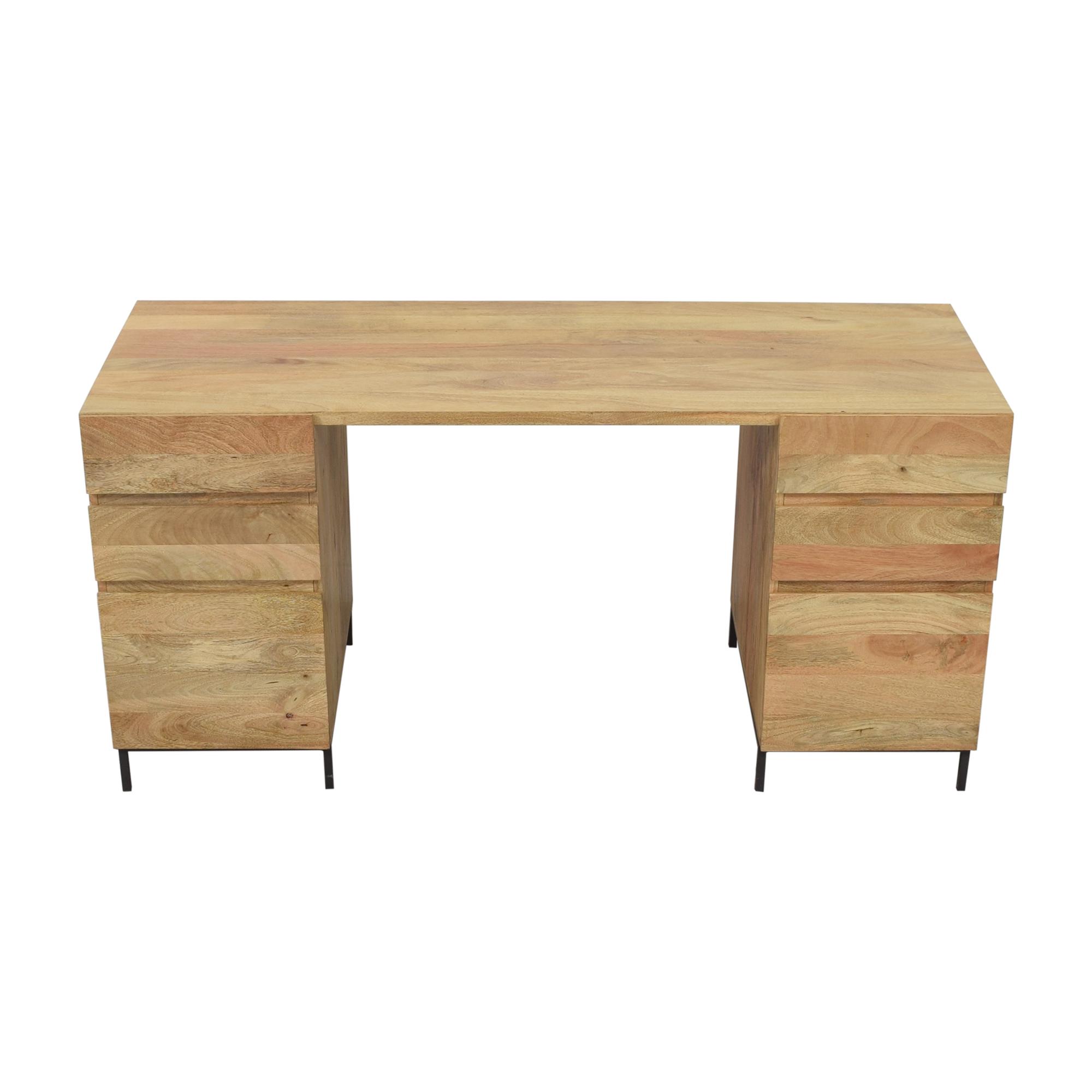 buy West Elm West Elm Desk Industrial Modular Desk Set online