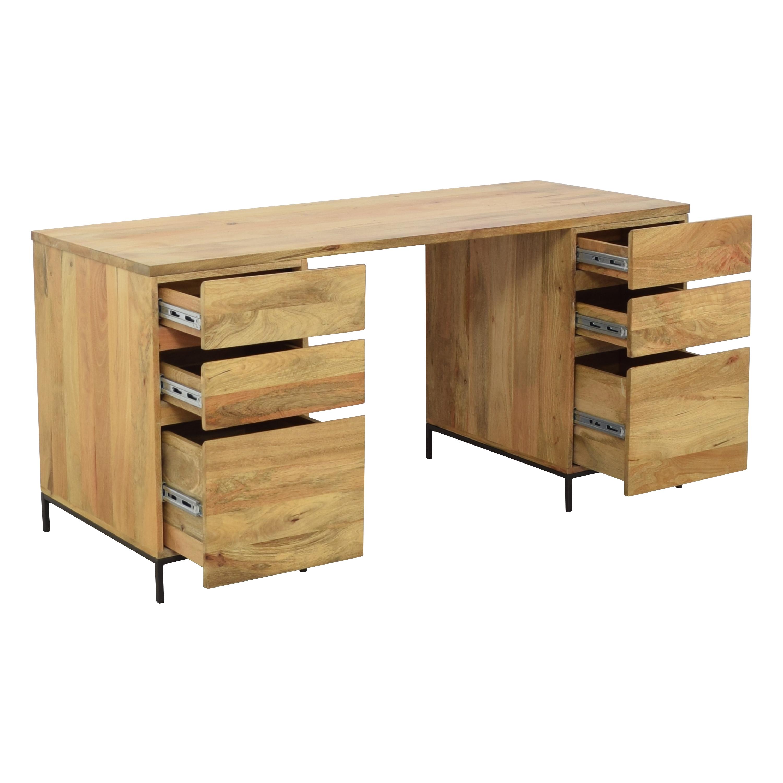 West Elm West Elm Industrial Modular Desk Set