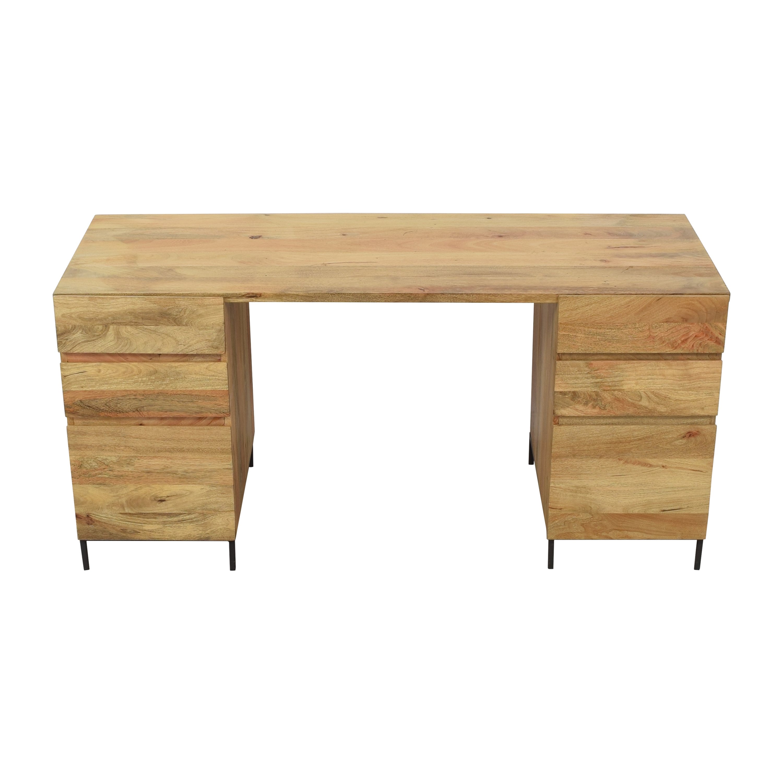 buy West Elm Industrial Modular Desk Set West Elm