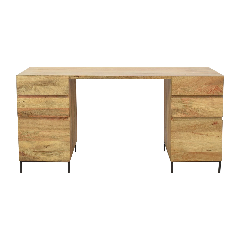 buy West Elm Industrial Modular Desk Set West Elm Tables
