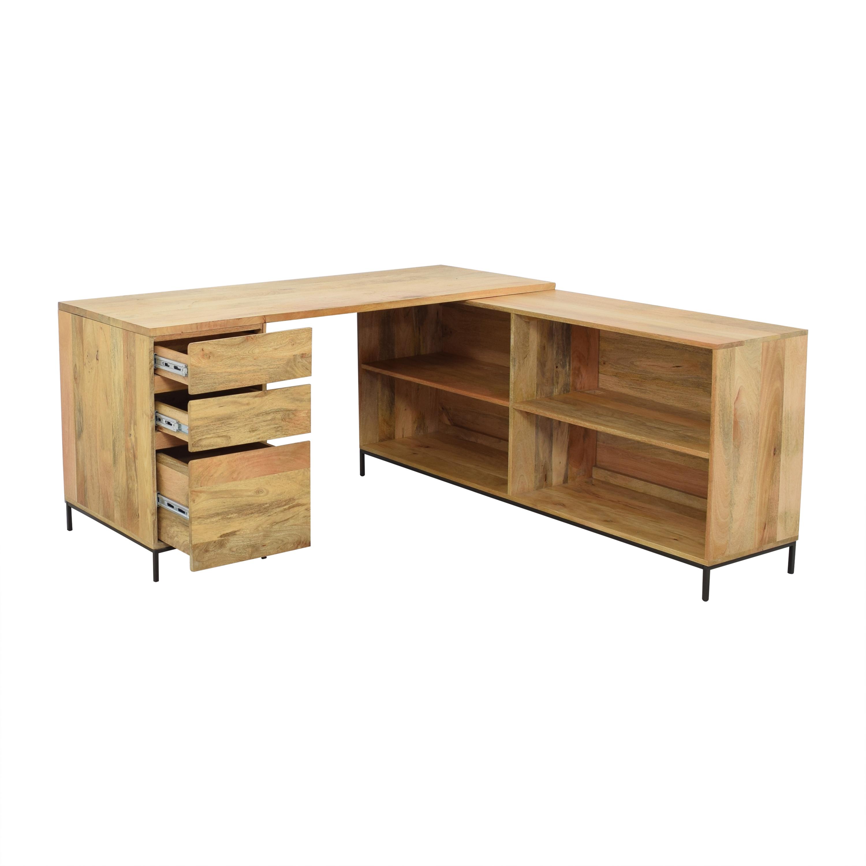 West Elm West Elm Industrial Modular Desk Set Tables