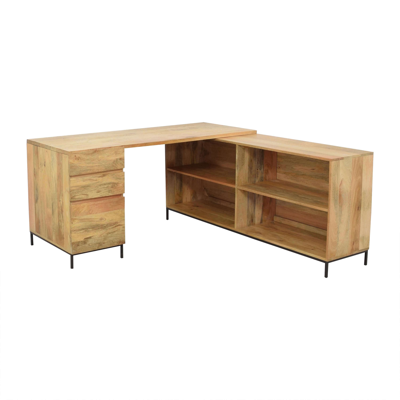 West Elm West Elm Industrial Modular Desk Set price