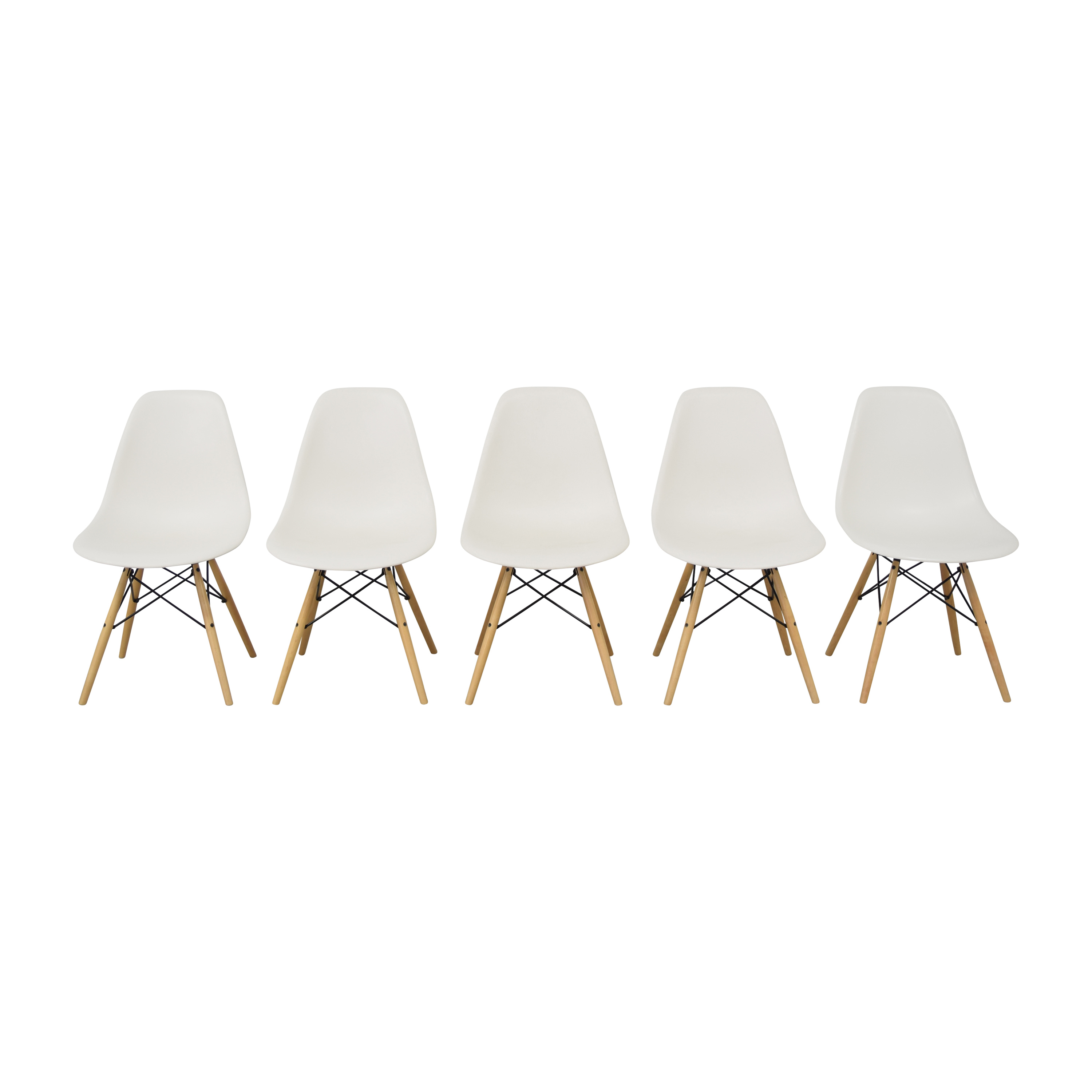 Herman Miller Herman Miller Eames Molded Side Chairs Dining Chairs