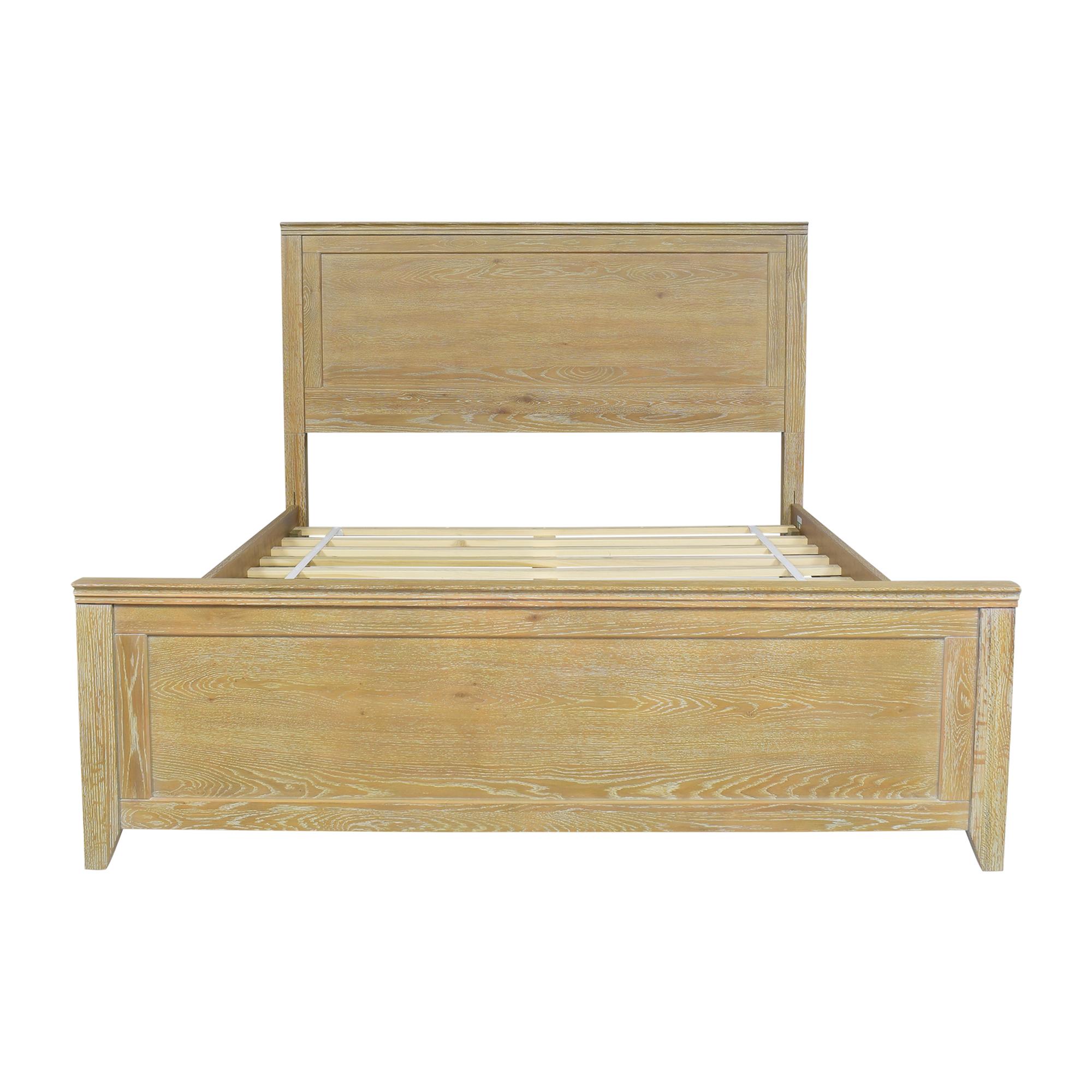 buy PBteen Hampton Classic Queen Bed PBteen Bed Frames