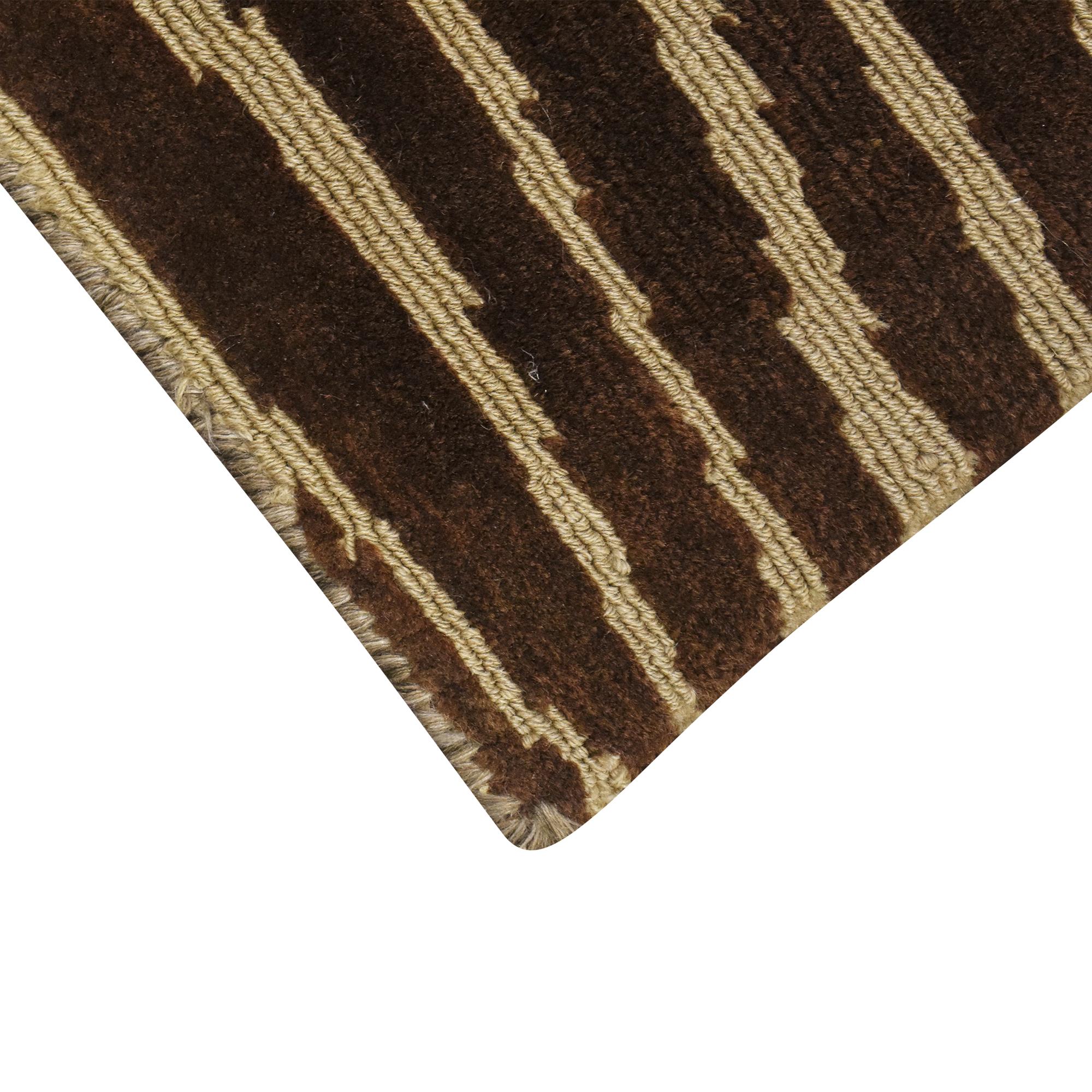 ABC Carpet & Home ABC Carpet & Home Striped Area Rug nyc