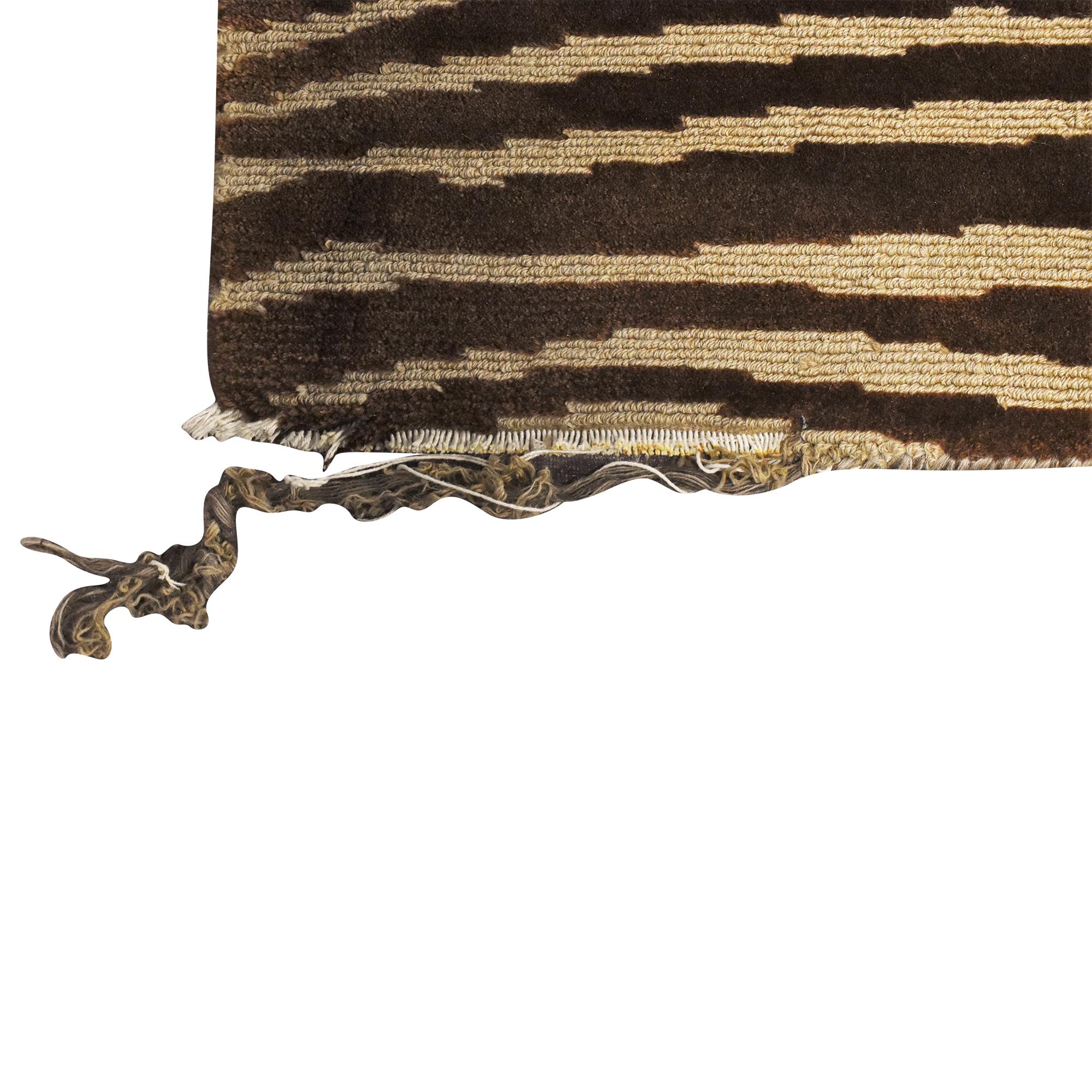 ABC Carpet & Home Striped Area Rug sale
