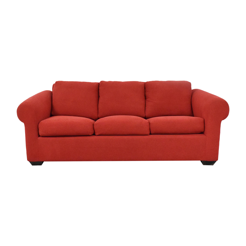 Classic Sofa Three Cushion Sleeper Sofa Classic Sofa