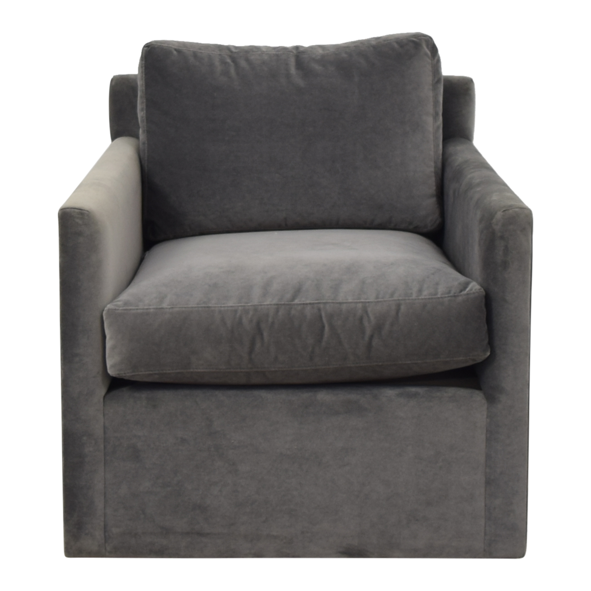 Restoration Hardware Restoration Hardware Oliver Track Arm Swivel Chair coupon