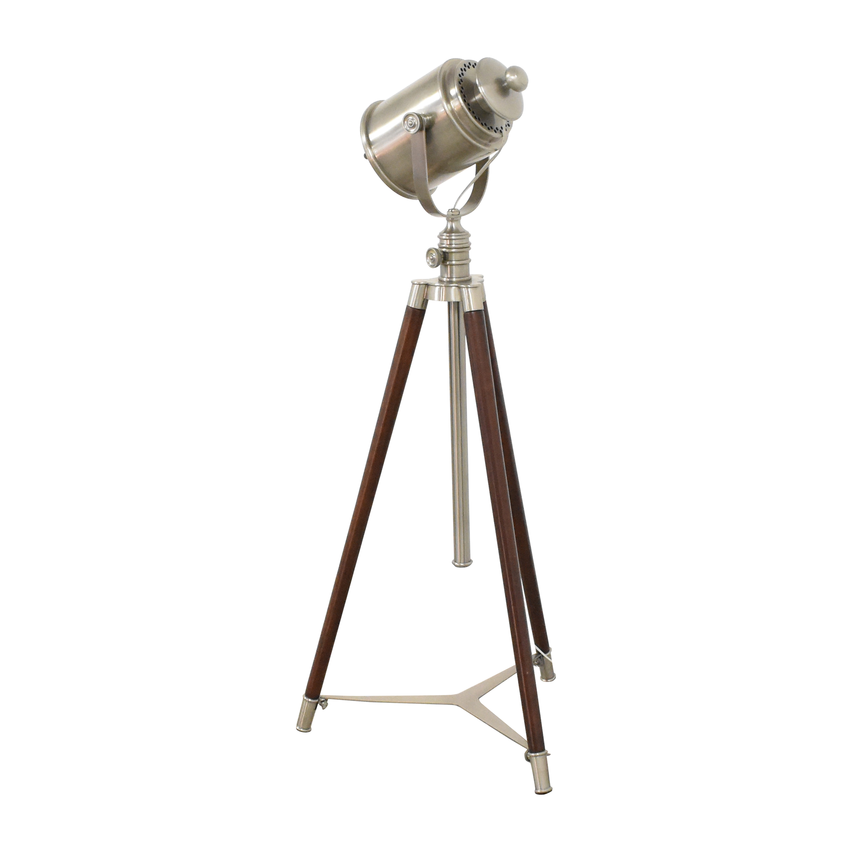 Pottery Barn Pottery Barn Photographer's Adjustable Tripod Floor Lamp price