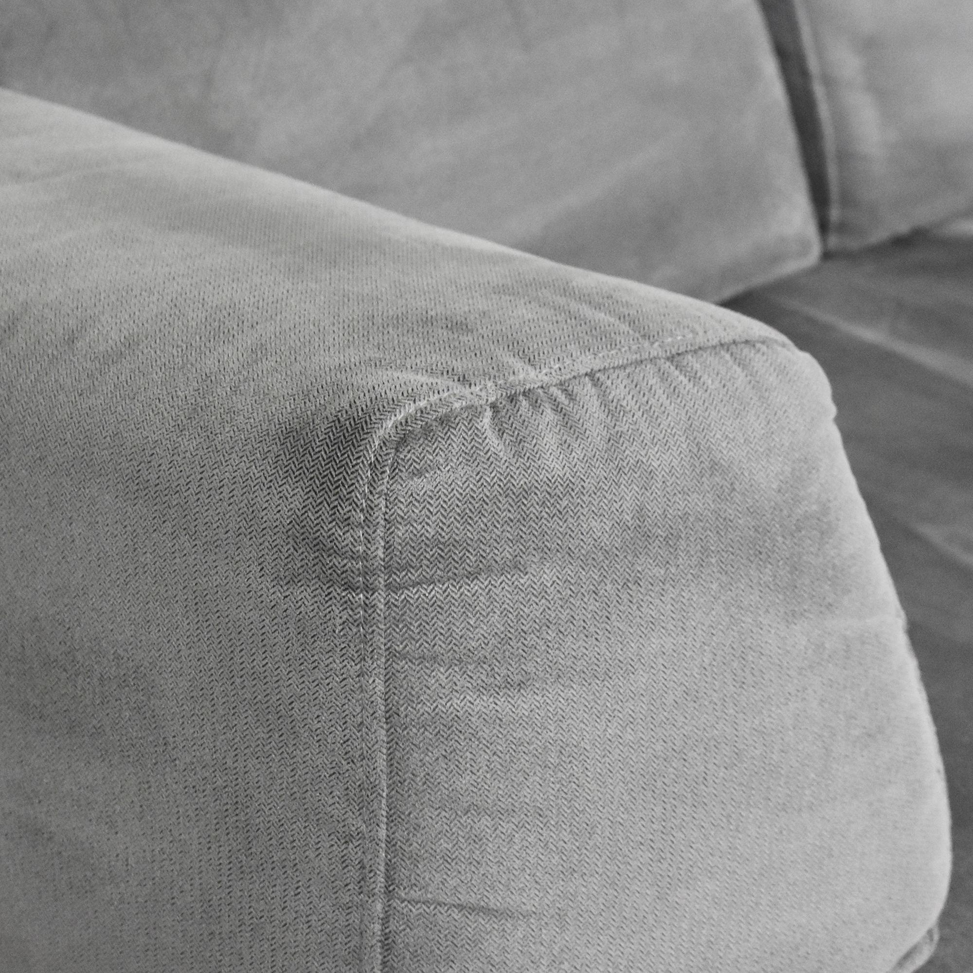 West Elm West Elm Tillary Modular Sofa dimensions