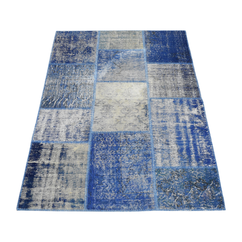buy ABC Carpet & Home Overdyed Patchwork Rug ABC Carpet & Home Decor