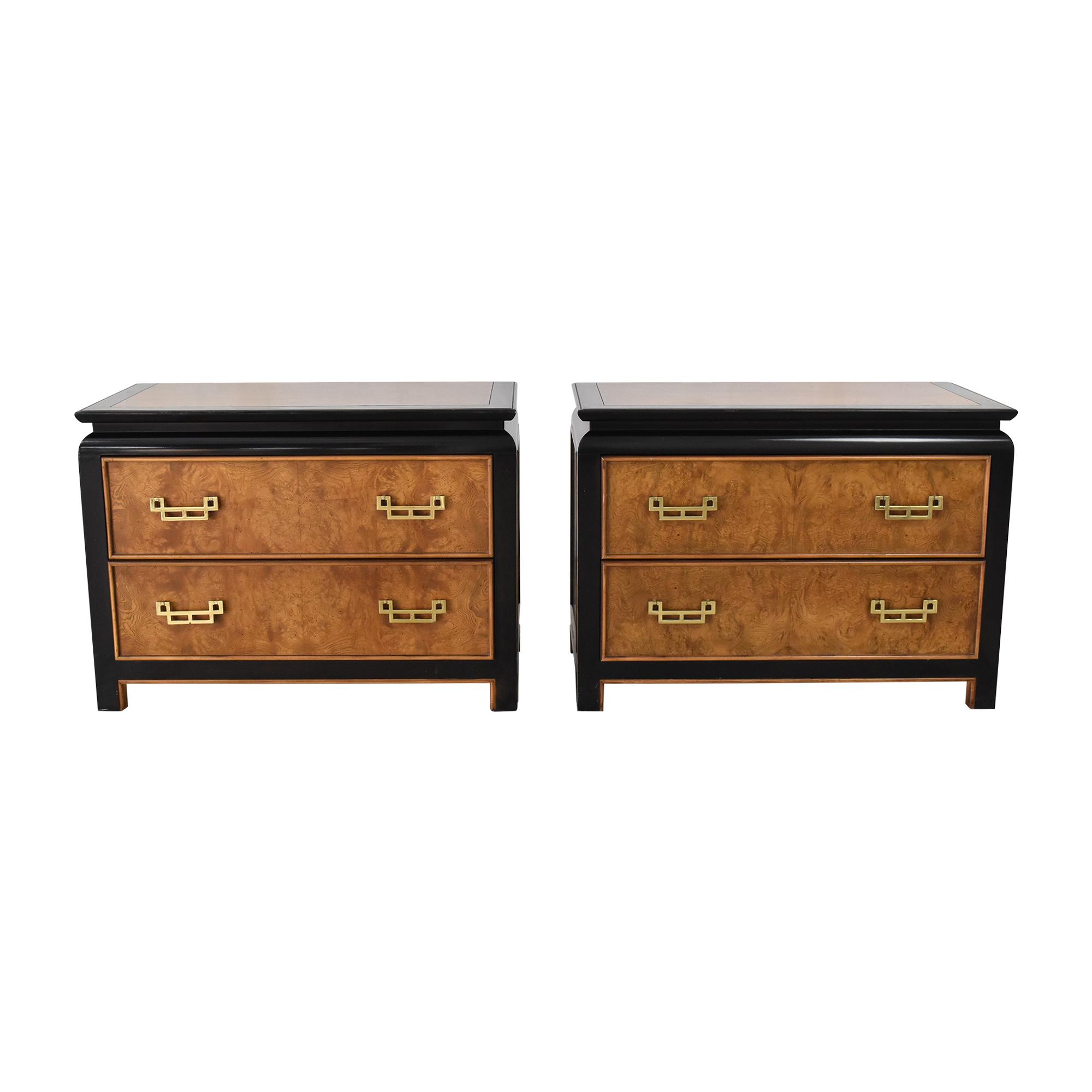 Century Furniture Century Furniture Chin Hua Nightstands by Raymond Sobota End Tables