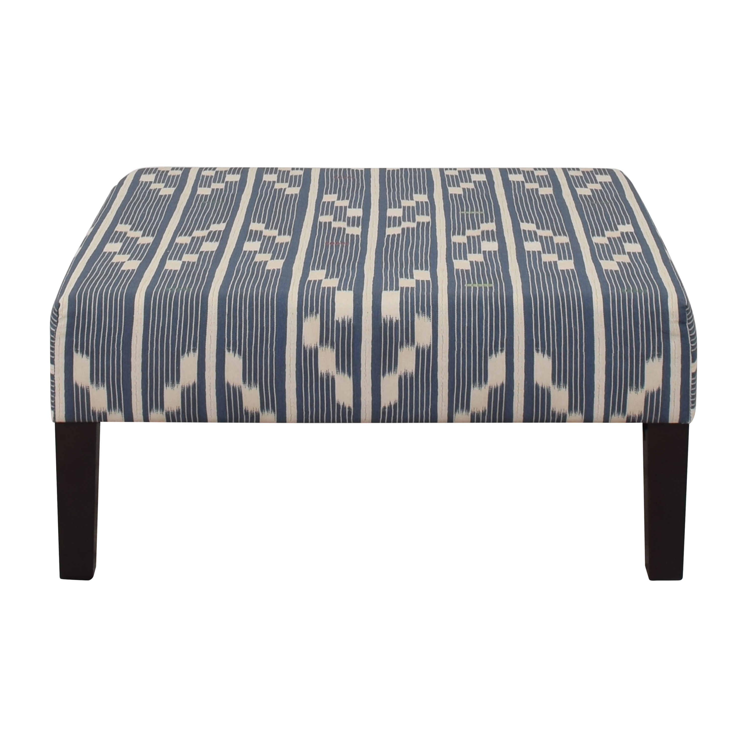 buy The Inside The Inside Linea Ikat Cocktail Ottoman online