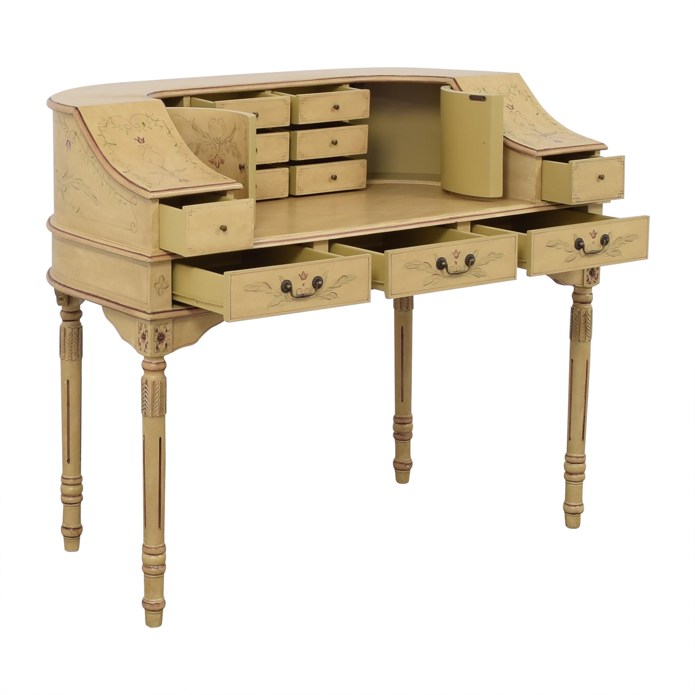 Custom Vintage-Style Writing Desk beige