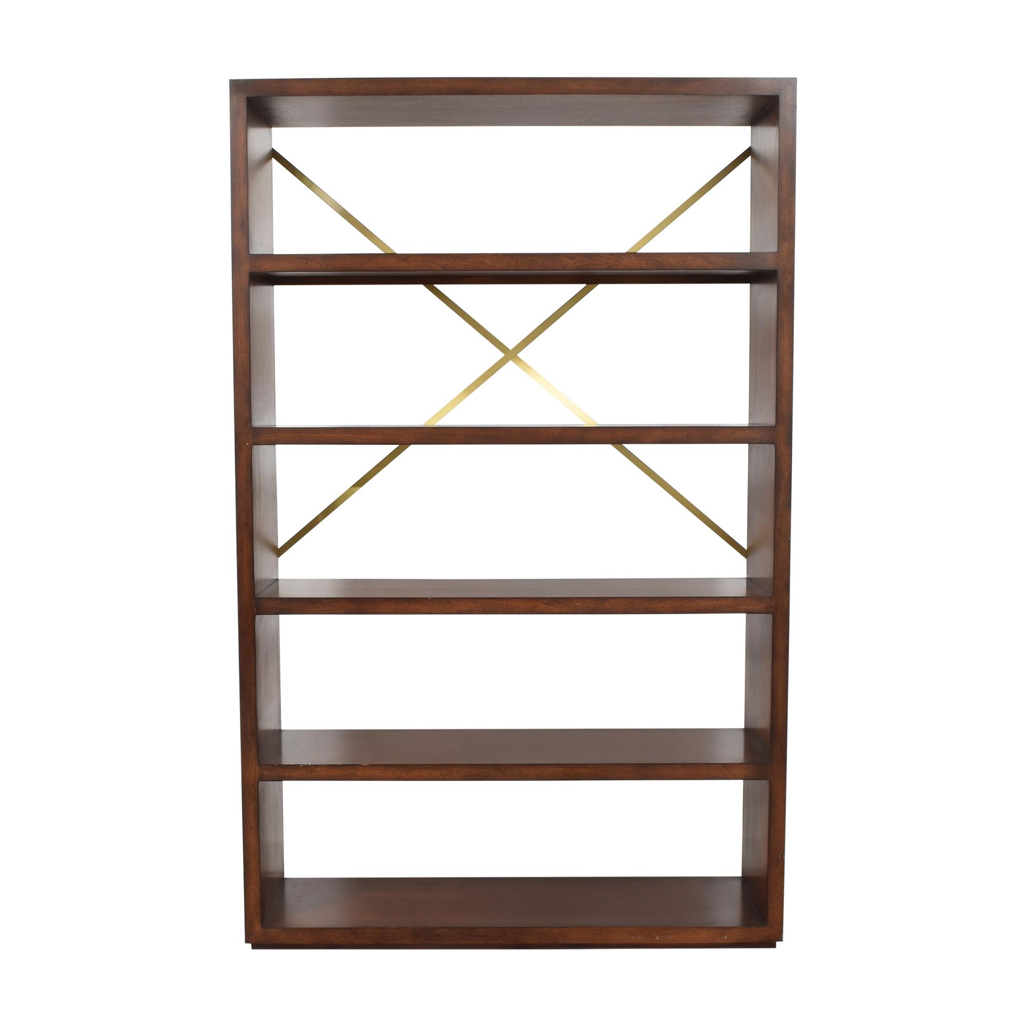 buy Modern Open Shelf Bookcase  Bookcases & Shelving