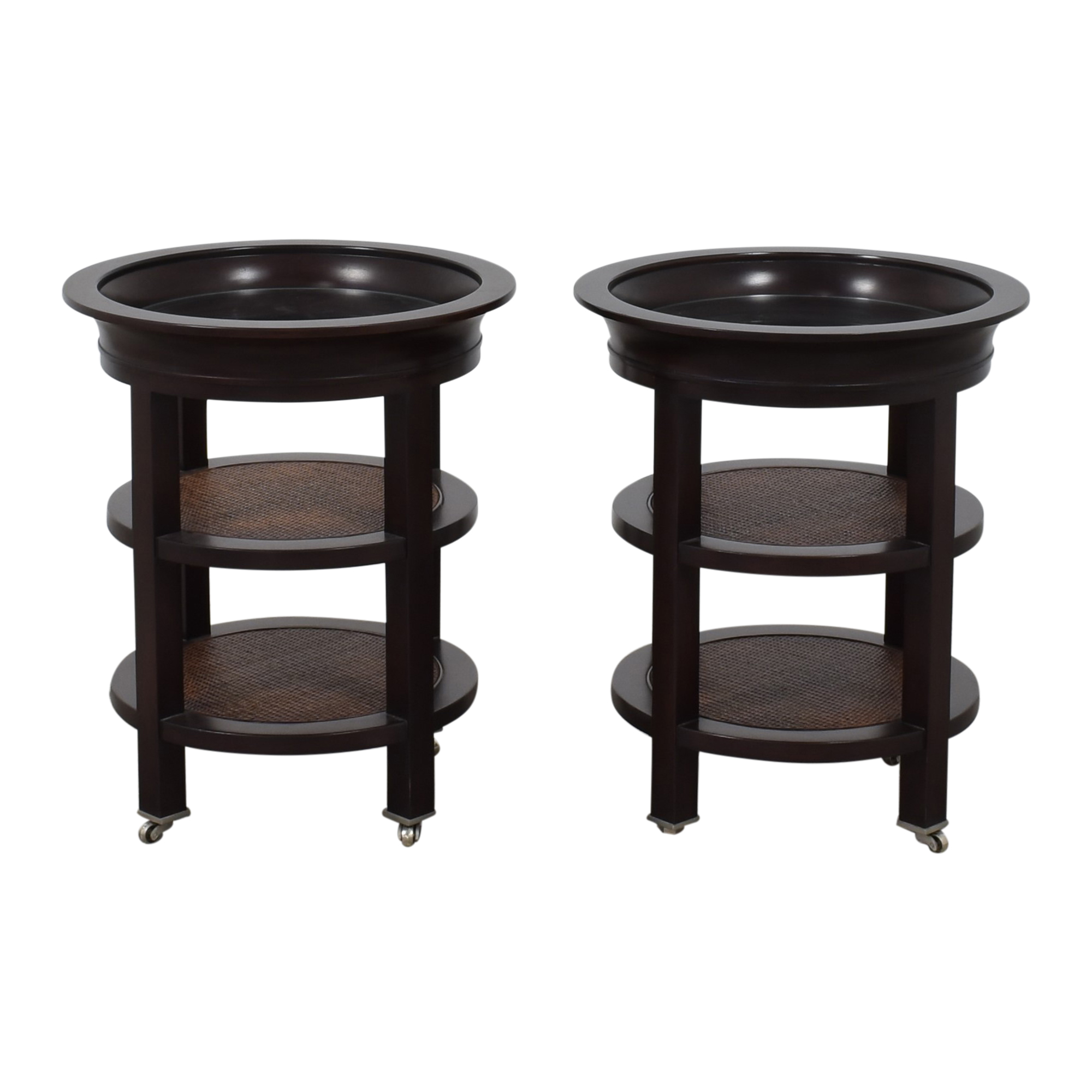 Three Tier Round Side Tables discount