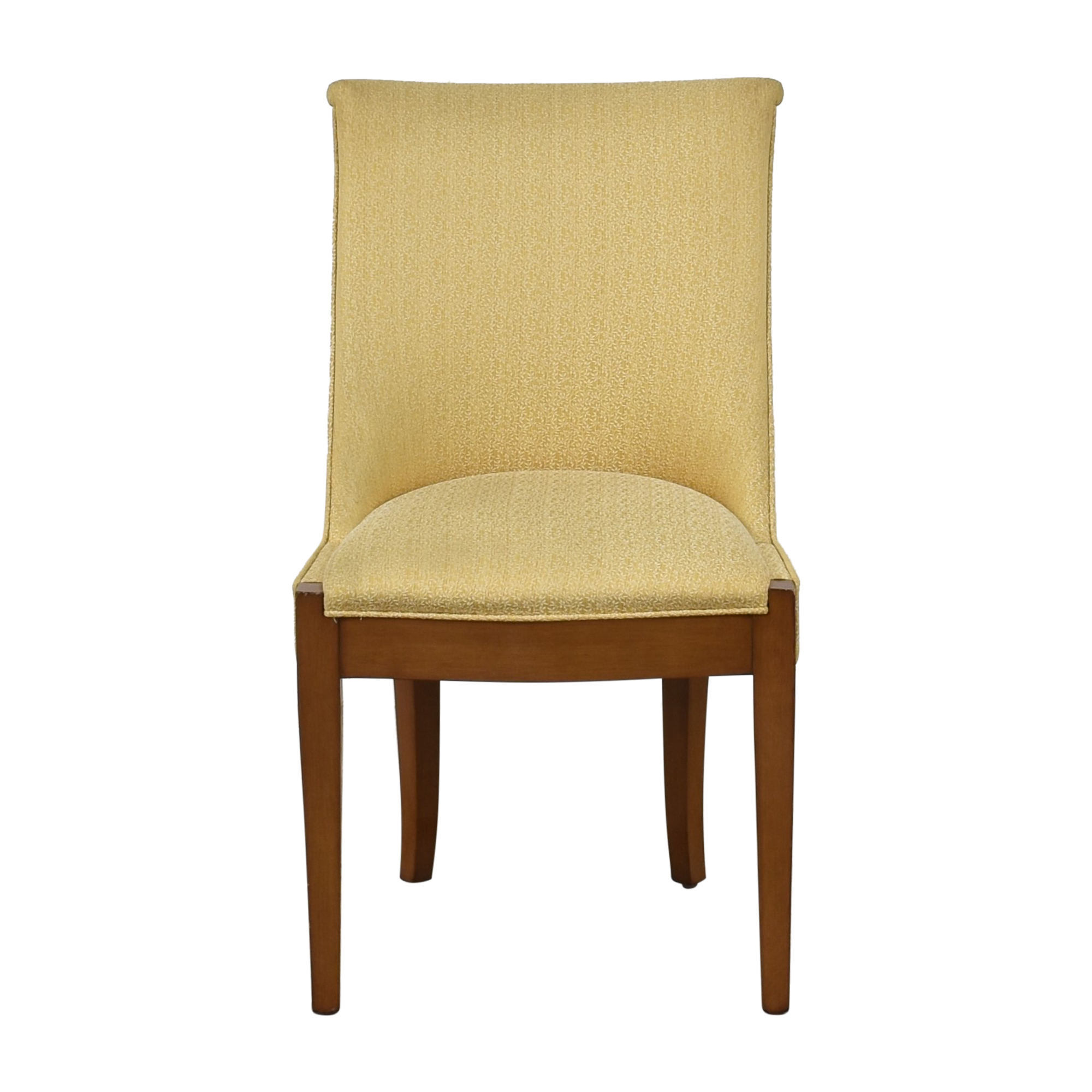 Traditional Scroll Back Dining Chair dimensions