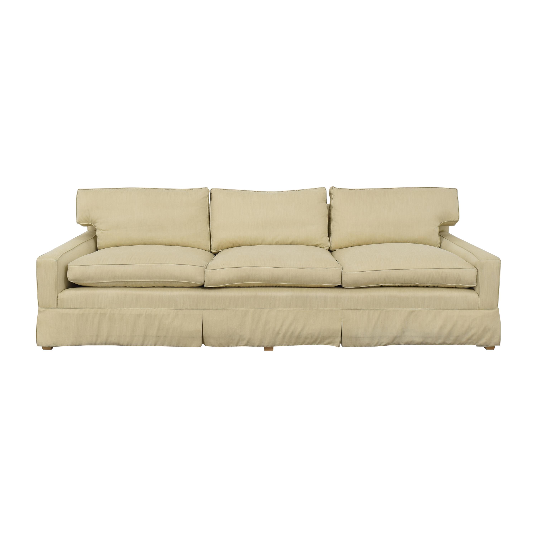 Classic Sofa Classic Sofa Skirted Track Arm Sofa price