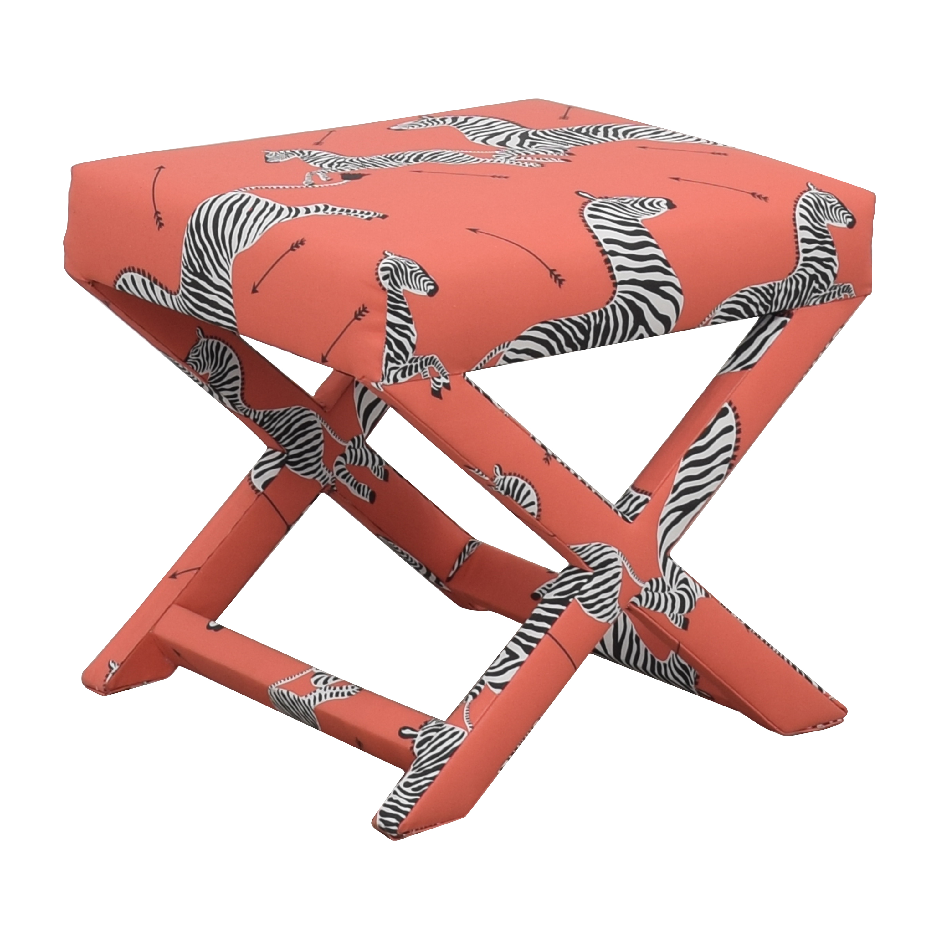 The Inside The Inside Coral Zebra X Bench dimensions