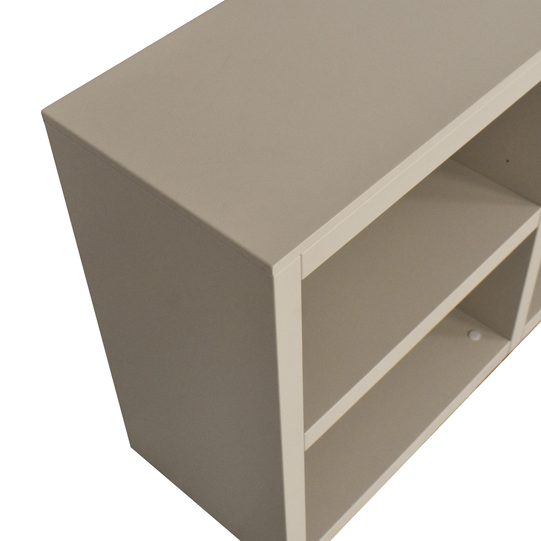 buy Poliform Modern Shelving Unit Poliform Bookcases & Shelving