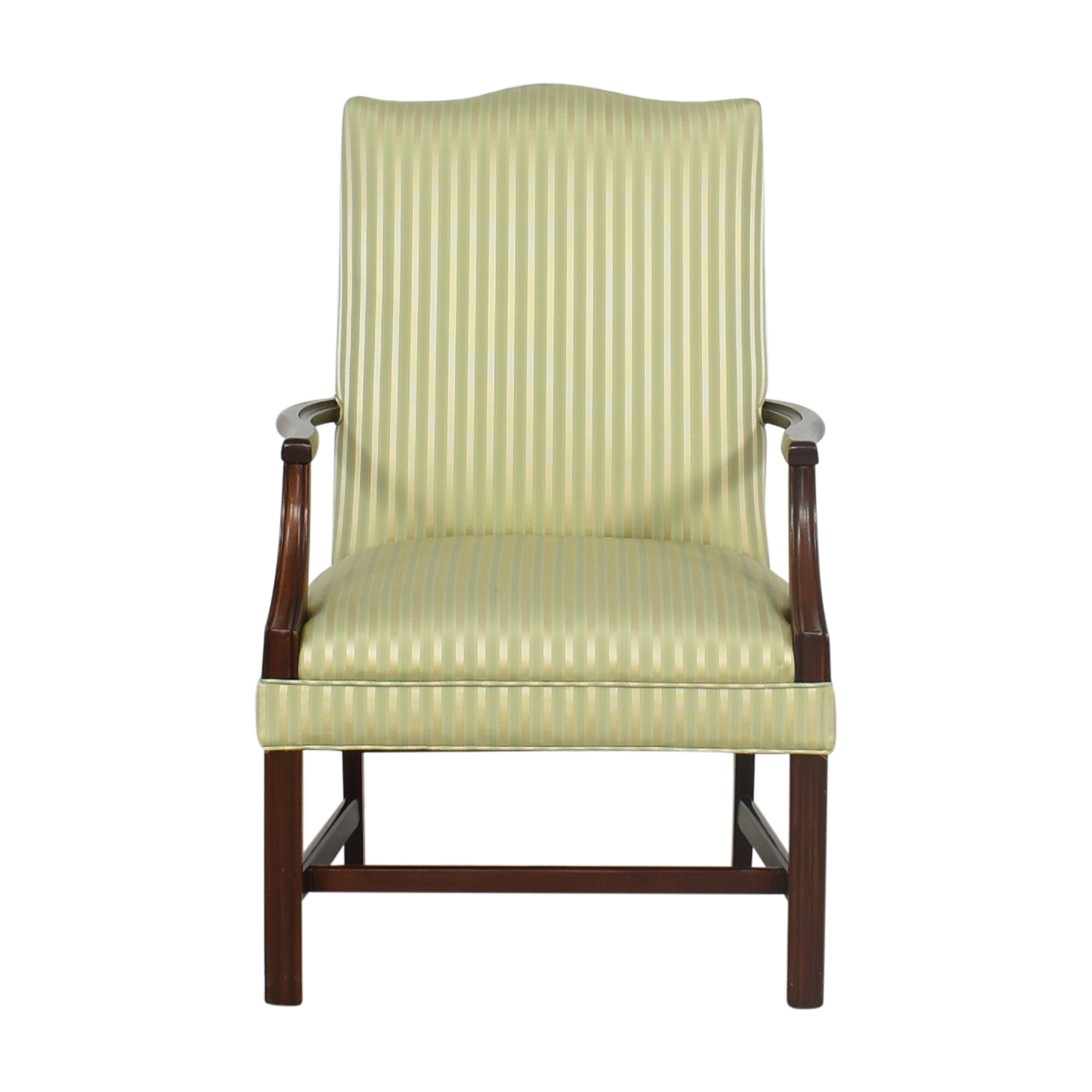Vintage Queen Anne Accent Chair Chairs