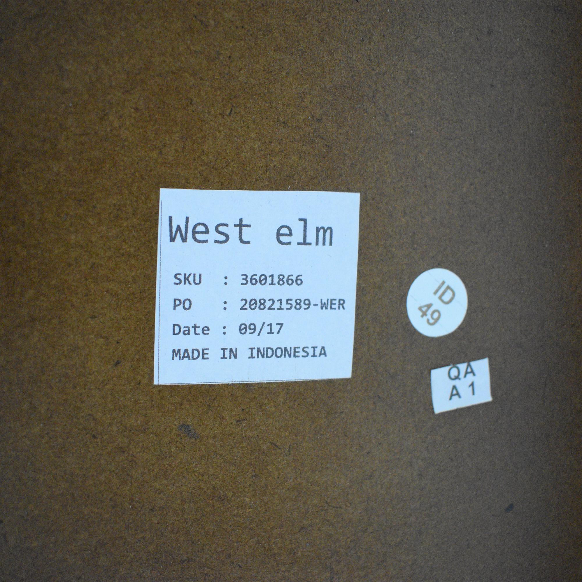 West Elm West Elm Rustic Kitchen Island dimensions