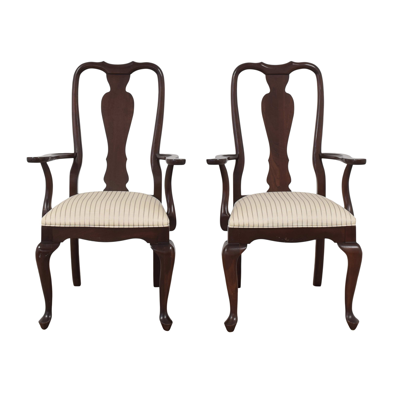 Ethan Allen Ethan Allen Georgian Court Dining Arm Chairs for sale