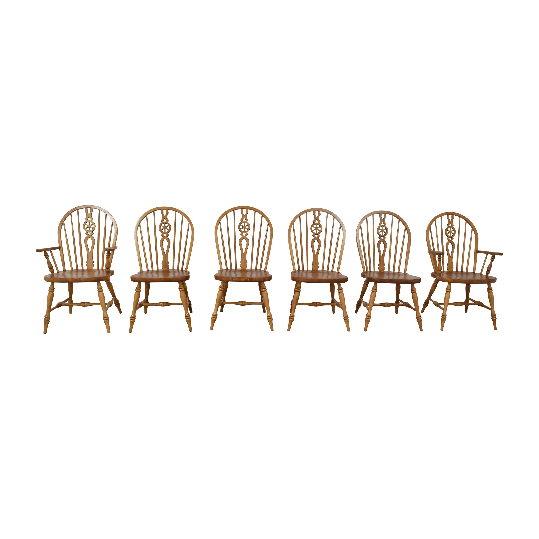 Ethan Allen Ethan Allen Farmhouse Windsor Dining Chairs coupon