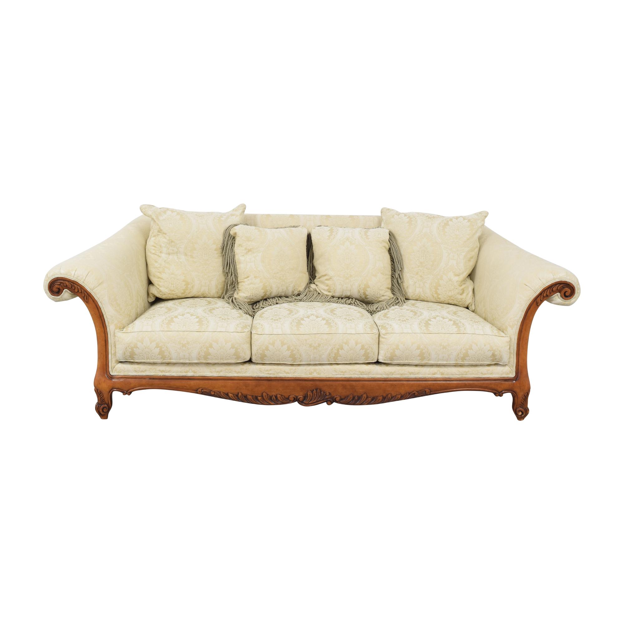 Henredon Furniture Henredon Furniture Vintage Roll Arm Sofa ma