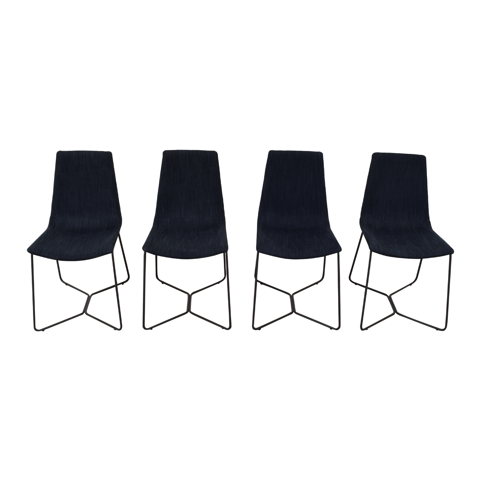 buy West Elm Slope Upholstered Dining Chairs West Elm