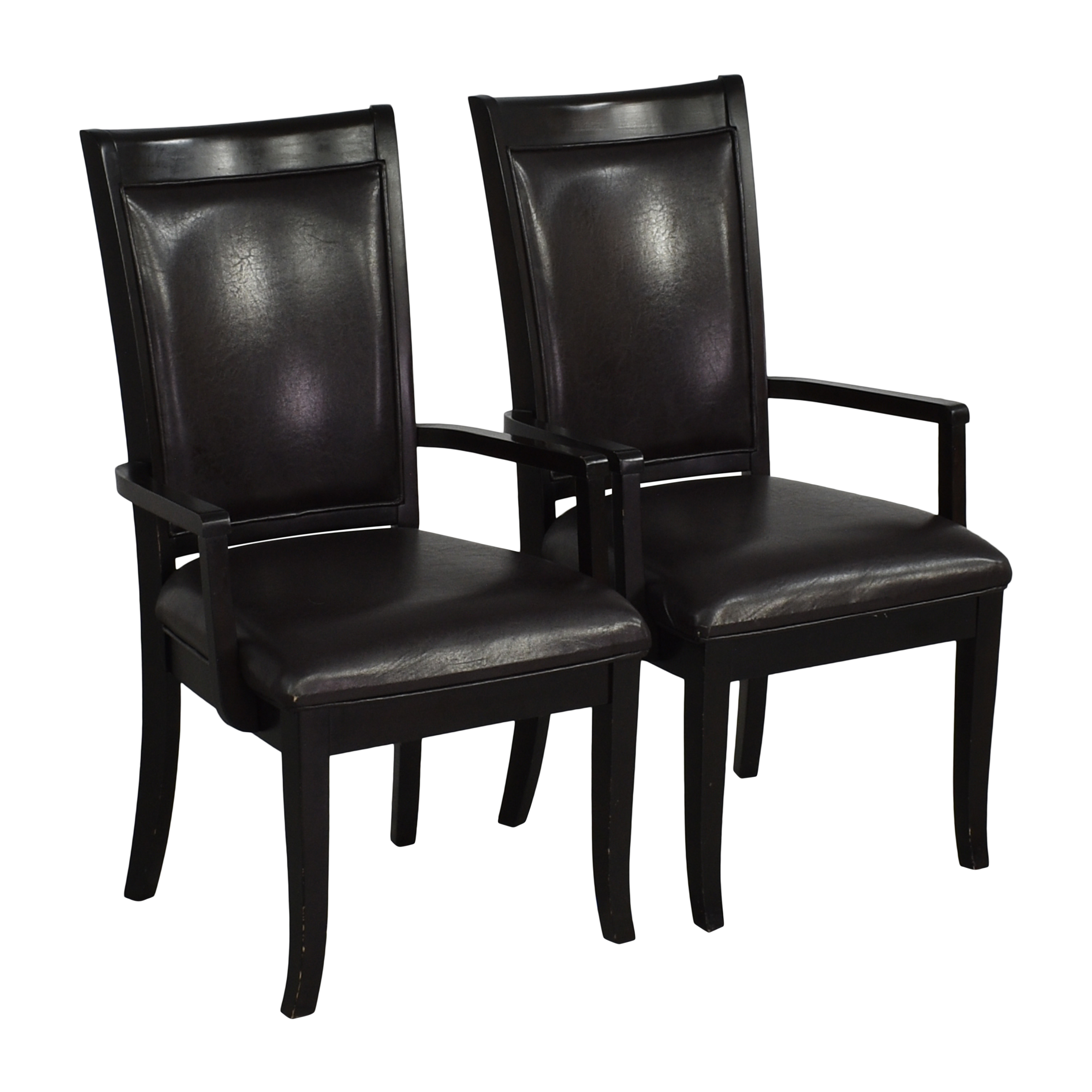 Poundex Poundex Dining Arm Chairs used