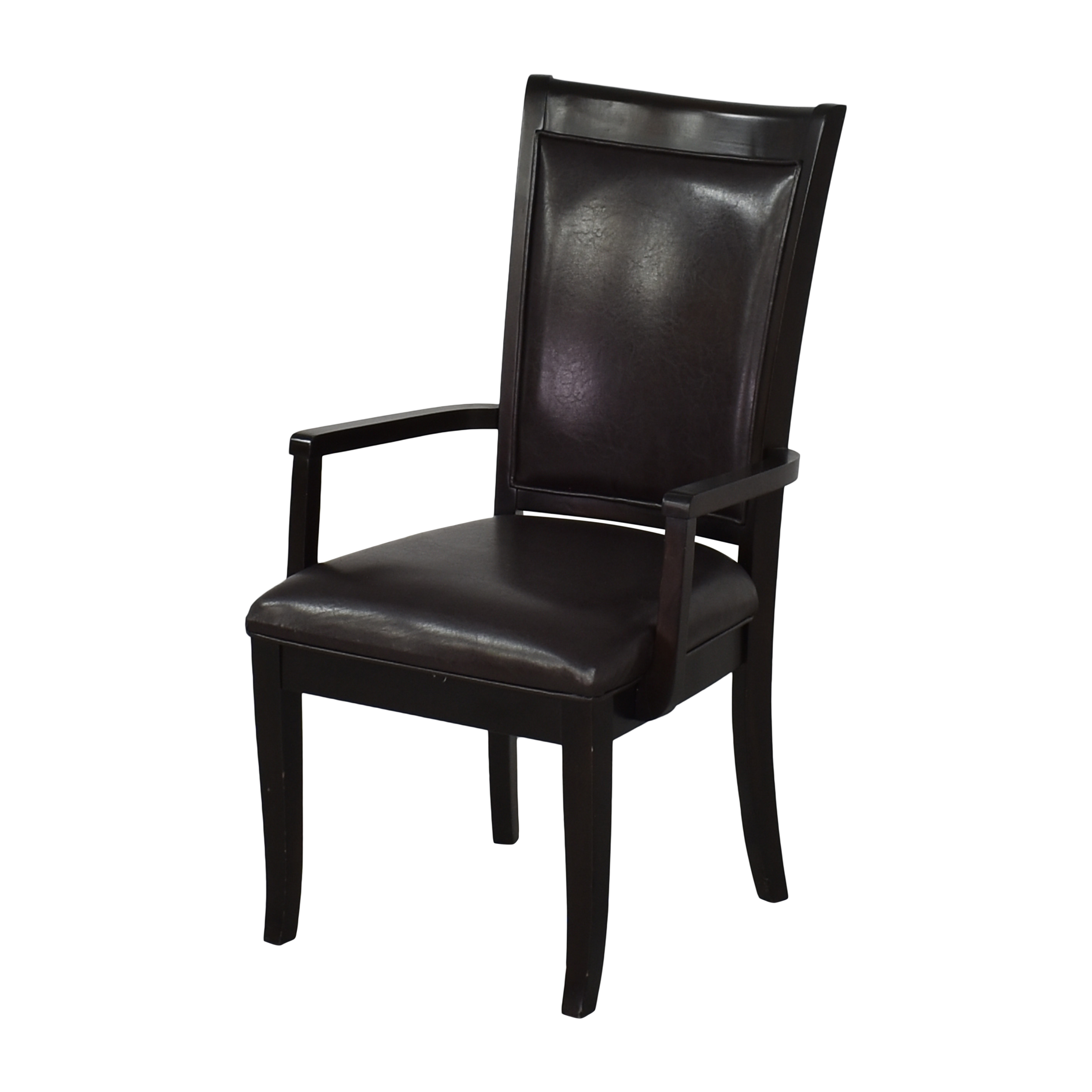 Poundex Poundex Dining Arm Chairs brown