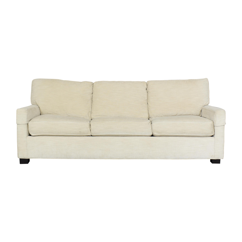 Safavieh Three Cushion Sleeper Sofa / Sofa Beds