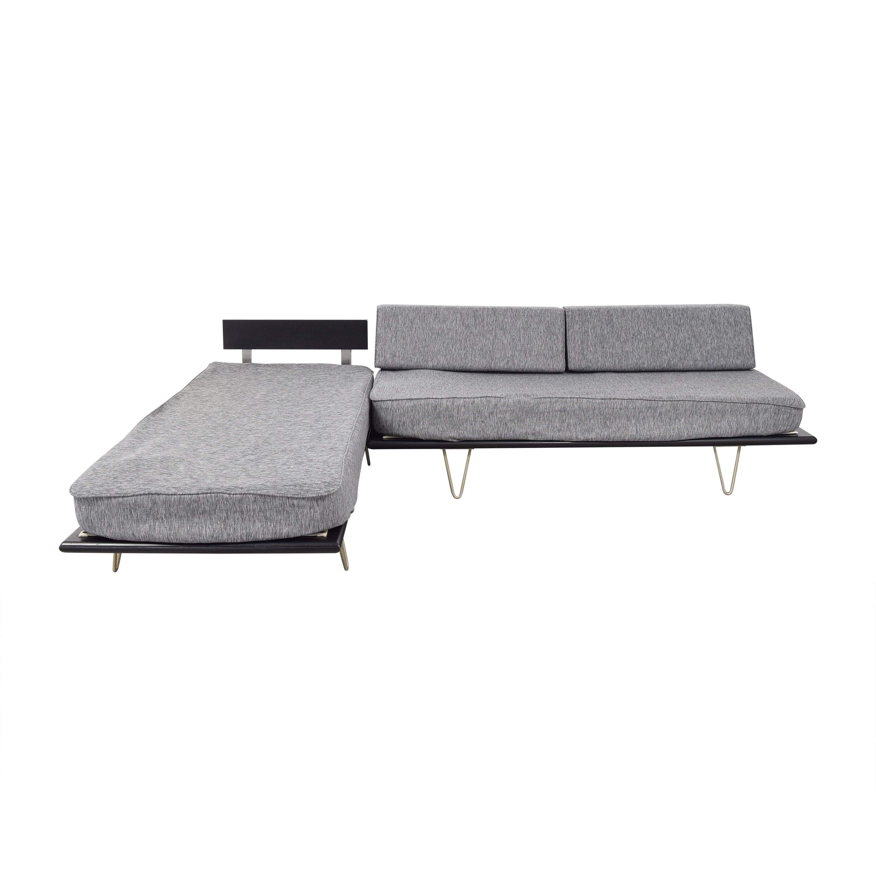 Modernica Modernica Case Study Sectional Daybed Sofa for sale