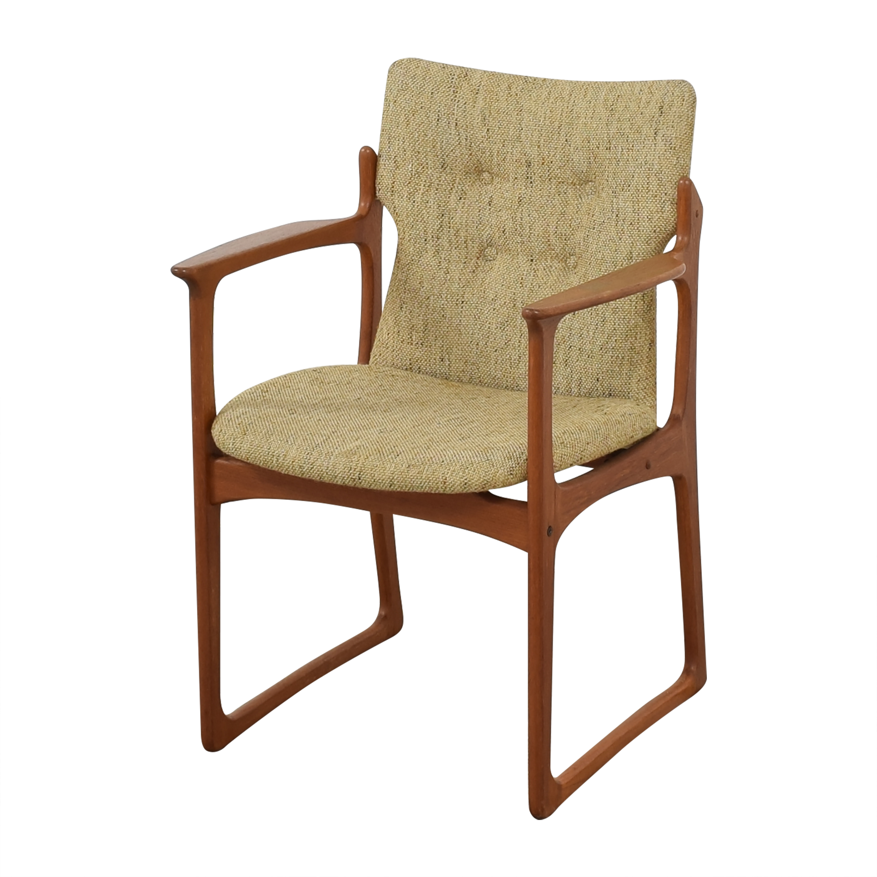 Vintage Danish Upholstered Dining Chairs  sale