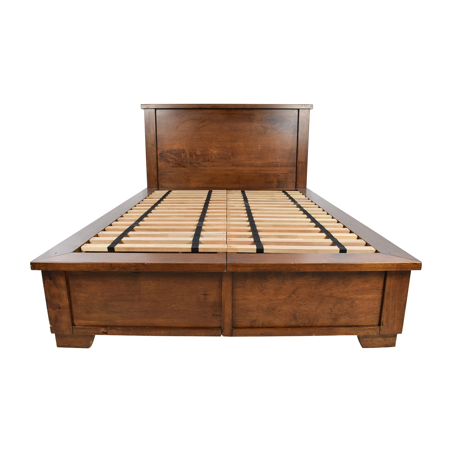 buy Pottery Barn Sumatra Queen Bed Frame with Storage Pottery Barn