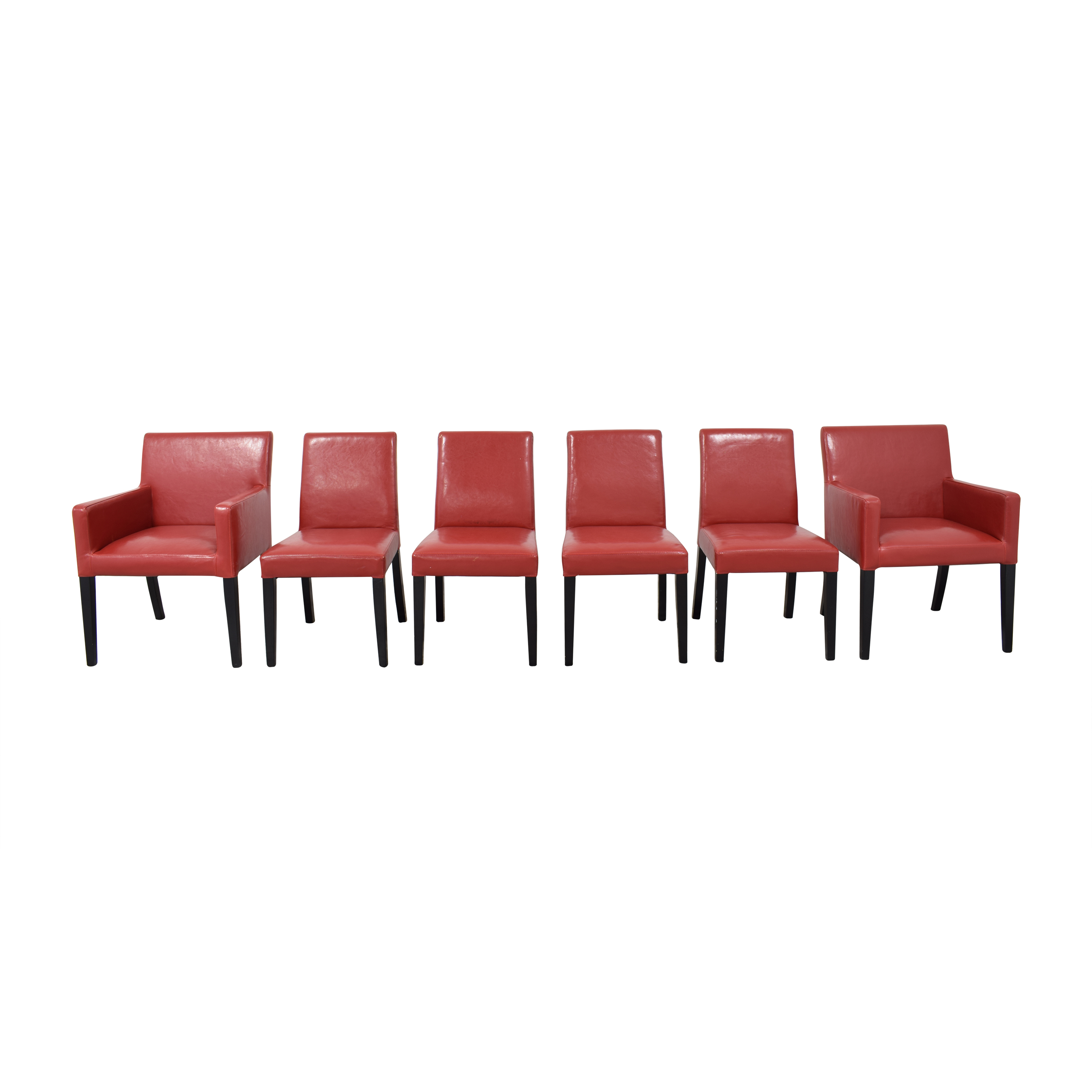 Crate & Barrel Crate & Barrel Pullman Dining Chairs discount
