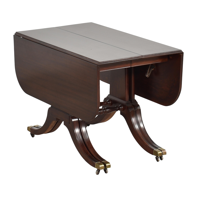 Brandt Furniture Brandt Furniture Drop-Leaf Extendable Dining Table ct