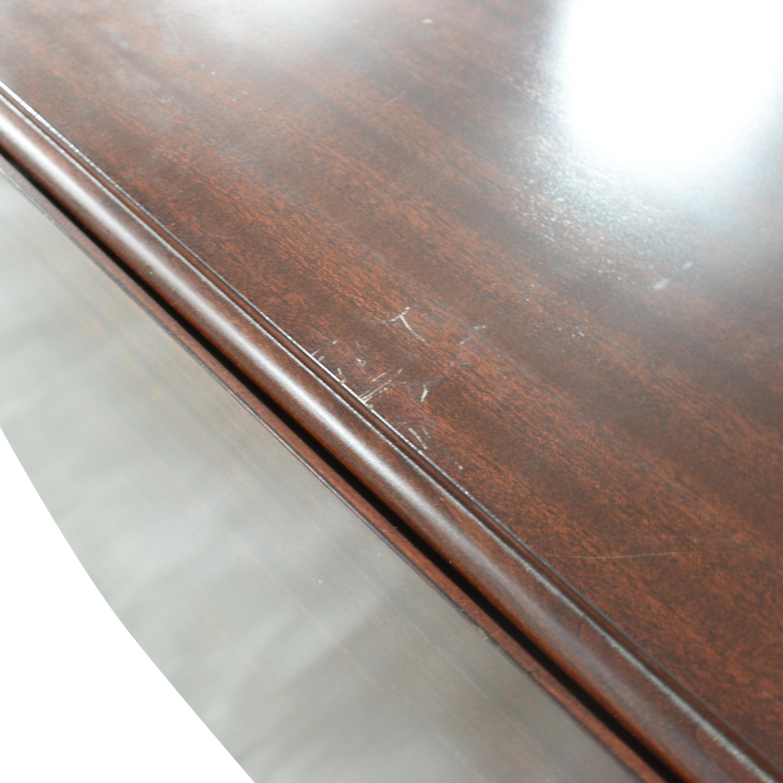 Brandt Furniture Brandt Furniture Drop-Leaf Extendable Dining Table for sale