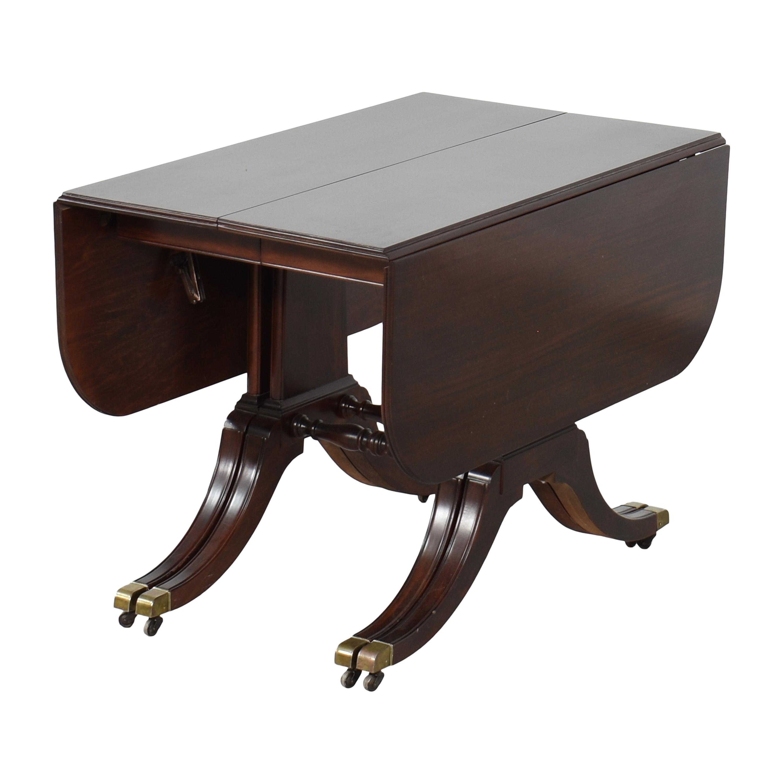 Brandt Furniture Brandt Furniture Drop-Leaf Extendable Dining Table price