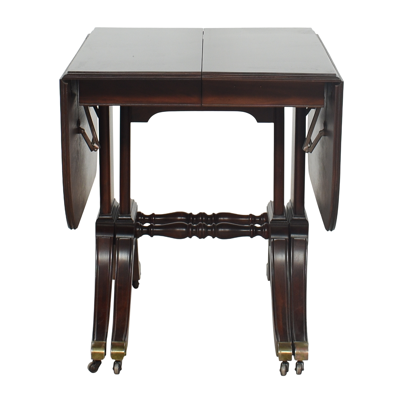 Brandt Furniture Brandt Furniture Drop-Leaf Extendable Dining Table used