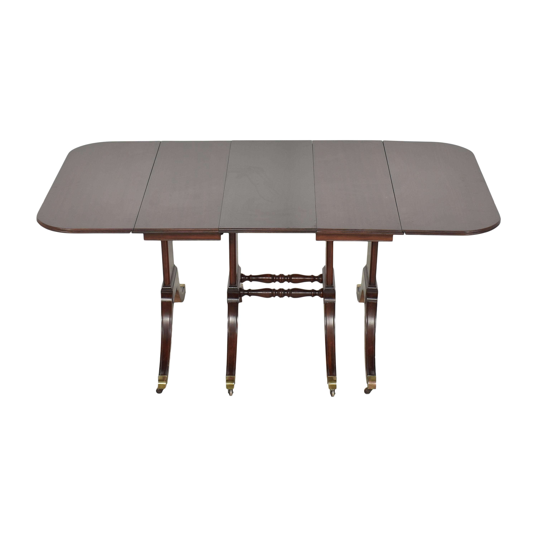 Brandt Furniture Brandt Furniture Drop-Leaf Extendable Dining Table Tables