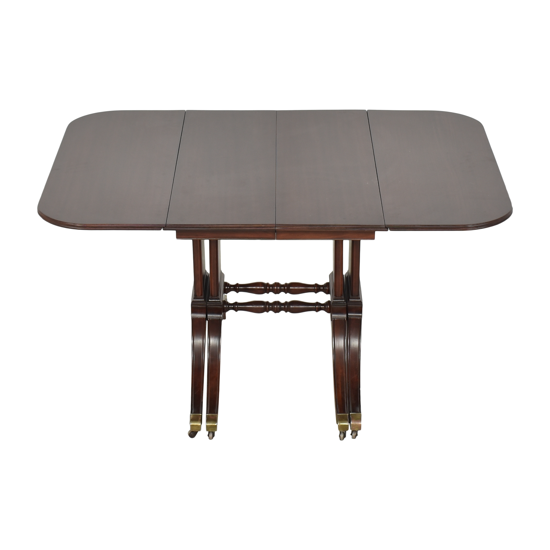 buy Brandt Furniture Drop-Leaf Extendable Dining Table Brandt Furniture
